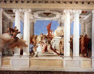 «Oggi ho visitato una splendida villa detta la Rotonda... Forse mai l'arte architettonica ha raggiunto un tal grado di magnificenza». (Goethe - 22 settembre 1786)